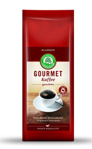 Lebensbaum Bio Gourmet Kaffee, klassisch, gemahlen (6 x 500 gr)