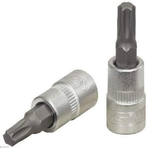 KS Tools 911.1444 - Llave de vaso hexagonal con punta de destornillador (T20, TX, 6,3 mm)
