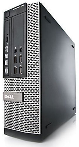 Dell OptiPlex 7010 SFF Core i3 8GB 1TB DVDRW WiFi Windows 10 Professional 64-Bit Desktop PC Computer With Antivirus (Renewed)