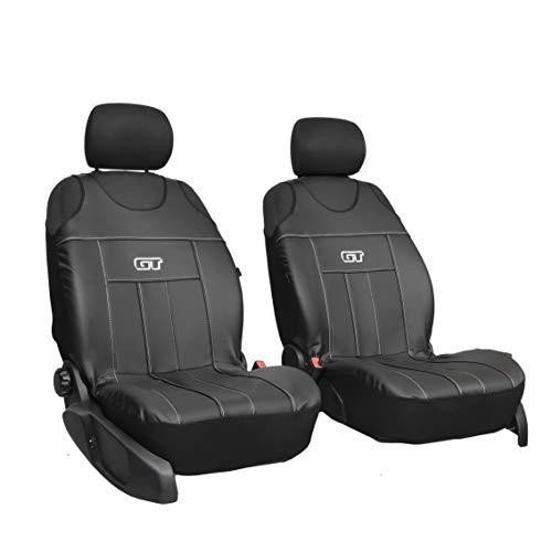 Neuheit GT-Kunstleder Sitzauflage Sitzbezüge Schonbezüge Geeignet für VW Tiguan Allspace SCHWARZ