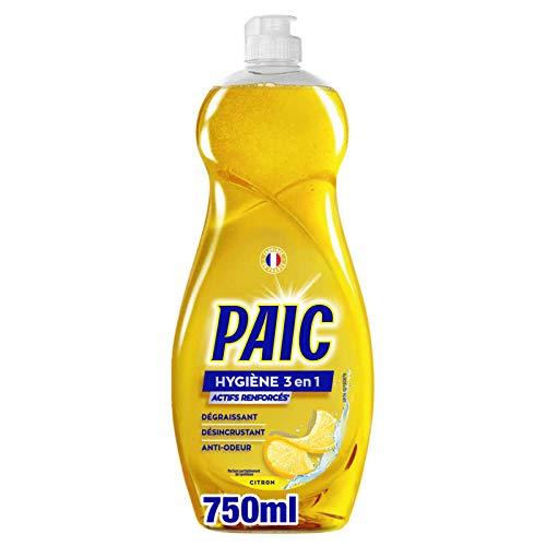 Paic Líquido Vajilla Higiene 3 en 1 Limón 750 ml