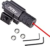 Pinty Compact Tactical Red Laser Sight with Picatinny Mount Alan...
