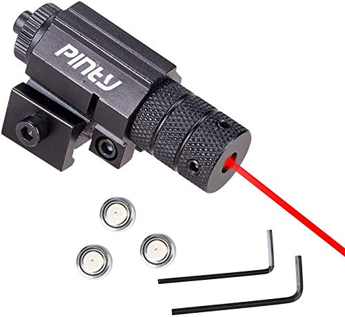 Pinty Compact Tactical Red Laser Sight with Picatinny Mount Alan