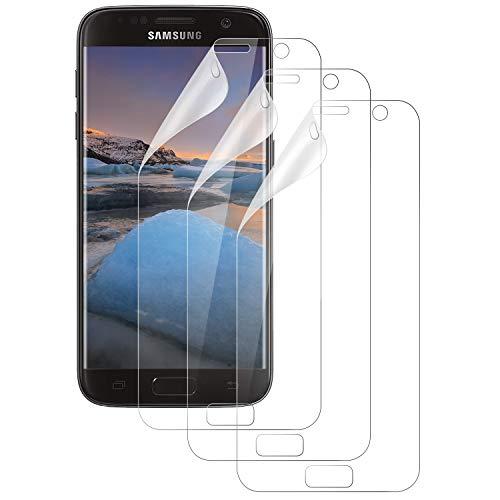 Wiestoung Schutzfolie für Samsung Galaxy S7, [3 Stück] TPU-Displayschutz Folie, hochauflösend ultradünn, [Nicht S7 Edge Schutzfolie], Anti-Kratzer, Blasenfrei, Schutzfolie für Samsung S7