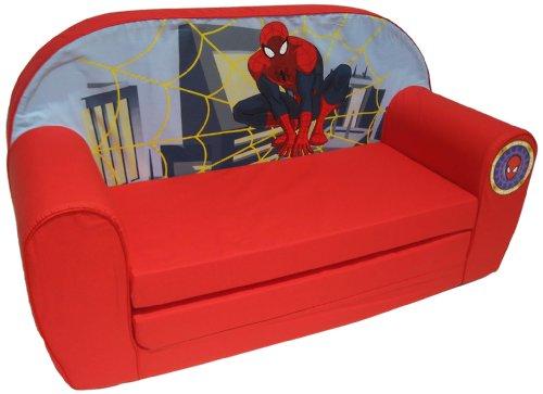 Marvel–6710036–Ultimate Spiderman Sofa–rojo