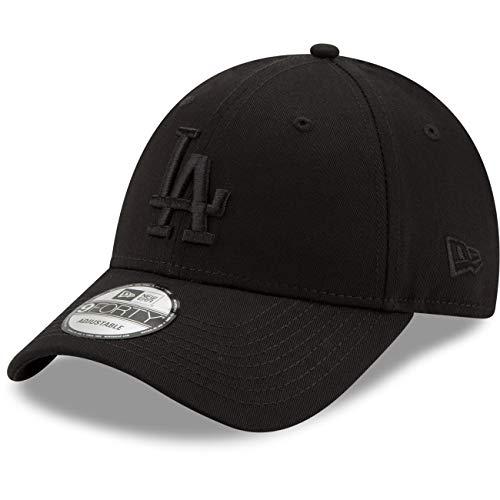 New Era 9Forty Snapback Cap LA Dodgers Schwarz Schwarz, Size:ONE Size