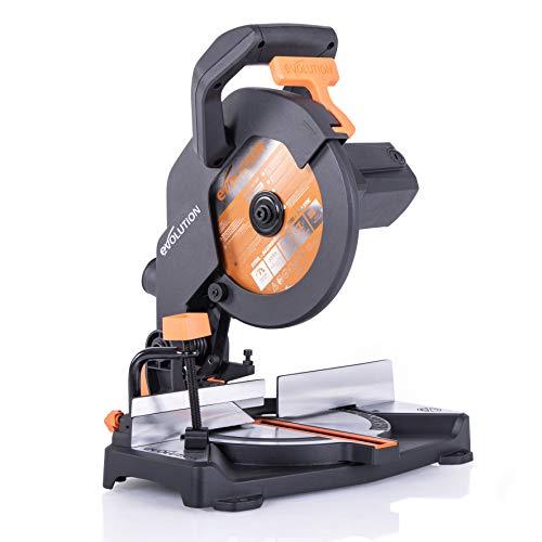 Evolution Power Tools Scie à Onglet Mixte Multi Matériaux R210cms 210 Mm 230 V