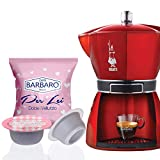 Barbaro Caffe Bialetti Compatibili Miscela Per Lei - 100 Capsule
