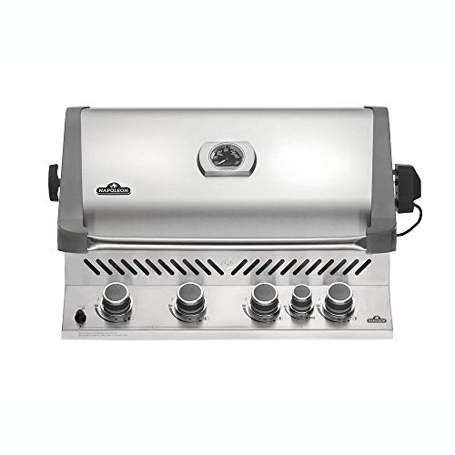 Napoleon Grills Built-in Prestige 500 with Infrared Rear Burner Natural Gas Grill