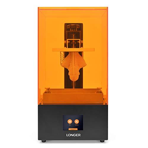 LONGER Orange 30 3D Printer, Upgraded Resin SLA 3D Printer with 2K High-Resolution, Parallel LED Lighting, 4.72'x2.68'x6.69' Large Printing Size, Off-line Printing