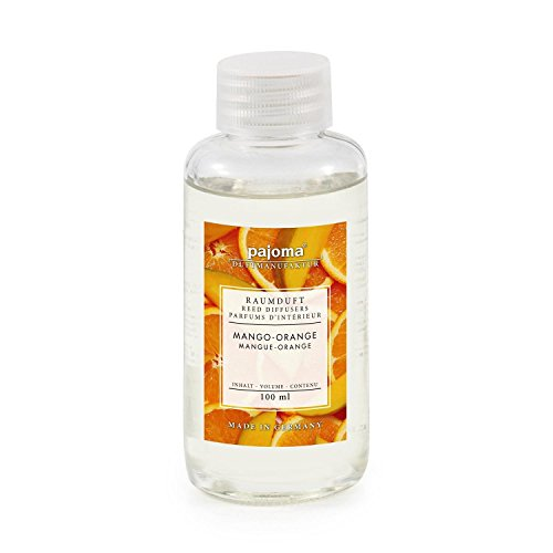 Raumduft Nachfüllflasche Mango-Orange, 1er Pack (1 x 100 ml) von pajoma
