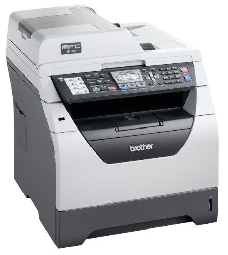Brother MFC-8370DN Monolaser-Multifunktionsgerät (Scanner, Kopierer, Drucker, Fax) grau/schwarz