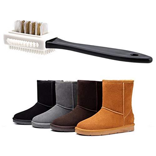 Dibiao 3 Seite Reinigung Pinsel S Form Schuh Reiniger Erfrischend Pinsel Küche Reinigung Pinsel Für Wildleder Nubuk Boot Schuhe 15. 5* 4. 5* 2. 8Cm