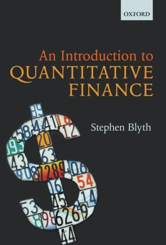 Download An Introduction To Quantitative Finance 