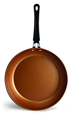 Ecolution Endure Nonstick Fry Pan, 11-Inch, Copper