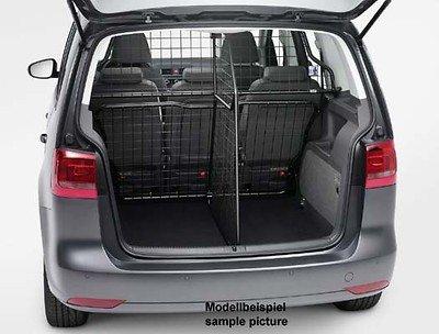 Volkswagen 1T0017222B Trenngitter längs Schutzgitter Raumteiler Kofferraum Gittertrennwand, nur in Kombination mit 1T7017221 verwendbar, nur für variablen/erhöhten Ladeboden