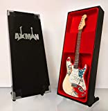 Jimi Hendrix - Réplica de guitarra en miniatura
