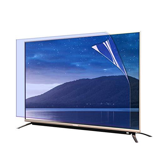 GFSD Blaulicht TV Displayschutzfolie, Entspiegelungsfolie Fenster Anti-Scratch für TV-Breitbildcomputer, 2 Stile, Verschiedene Größen (Color : Matte Version, Size : 75 inch 1645X930mm)