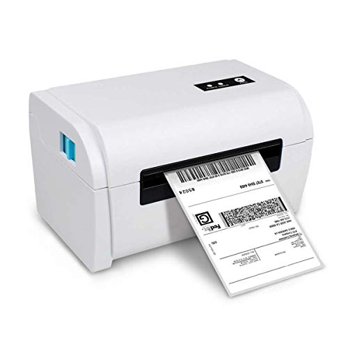 Yanghao Thermo-Etikettendrucker, 4-Zoll-BT-Aufkleber Barcode 110mm Breite High Speed Drucker USB-Anschluss Unterstützung IOS/Android/WinXP / Win7 / WIN8 / WIN10