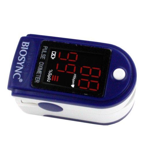 Biosync Pulsioxímetro y monitor de frecuencia cardíaca