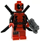 Lego Marvel Super Heroes Deadpool Minifigure by LEGO