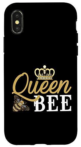 iPhone X/XS Queen Bee - Gift for Woman Beekeeper Case