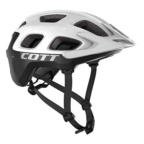Scott 275202 - Casco de Bicicleta Unisex para Adulto, Blanco/Negro, Talla S