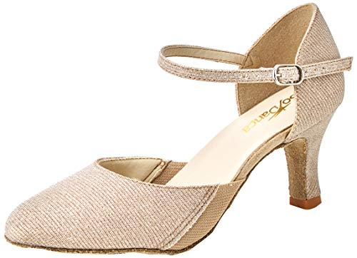 So Danca Damen Bl118 Standard- & Latintanzschuhe, Gold (Gold Glitter Gold Glitter), 35/36 EU