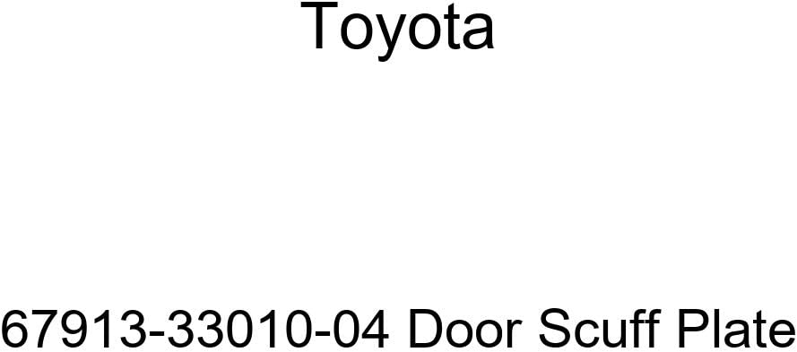 TOYOTA Max 55% OFF Genuine 67913-33010-04 excellence Scuff Plate Door