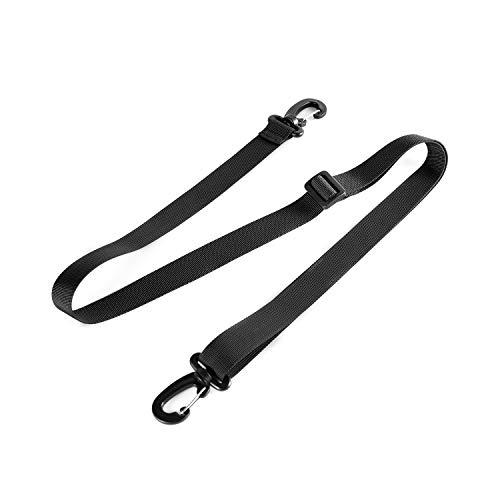 OneTigris Shoulder Straps Replacement Adjustable Strap for Briefcase Messenger Bag (Black)