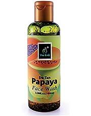 The EnQ De -Tan Papaya Face Wash 100ml
