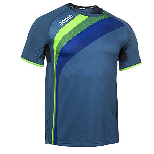 Joma Elite V Camiseta, Unisex Adulto, Azul Marino, XS