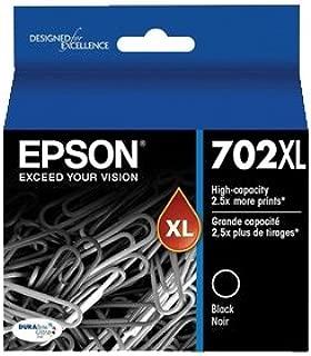 Epson 702XL Black High Yield Ink Cartridge (Genuine)
