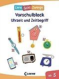 Die neuen LernSpielZwerge - Uhrzeit und Zeitbegriff: Vorschulblock ab 5