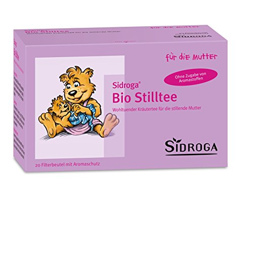 Sidroga Bio Stilltee – Kräutertee mit Heilpflanzen zur Unterstützung der Milchbildung – 20 Filterbeutel à 1,5 g