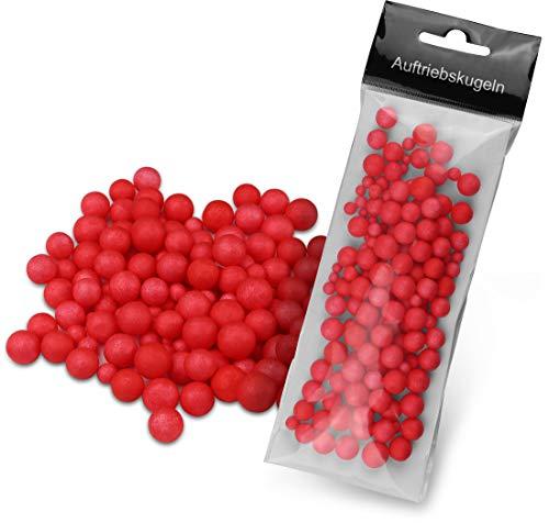 Storfisk fishing & more Angeln Pop Ups Auftriebskörper aus Styropor, Farbe :Rot