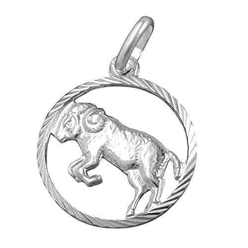 Hanger, sterrenbeeld ram zilver 925