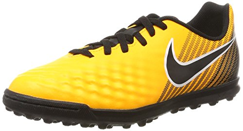 Nike Magistax Ola II TF, Scarpe da Calcio Unisex-Adulto, Arancione (Laser Orange/Black/White/Volt), 38.5 EU
