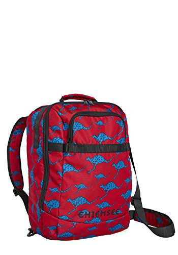 Chiemsee Bags Collection Koffer, 41 cm, 2645 Dark Red/M Blue