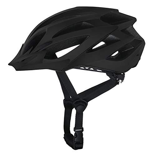 Casco Bicicleta Yuan Ou Casco de Bicicleta MTB Mountain Road Bike Safety Riding Casco Ultraligero Transpirable Ciclismo Deporte Casco Negro