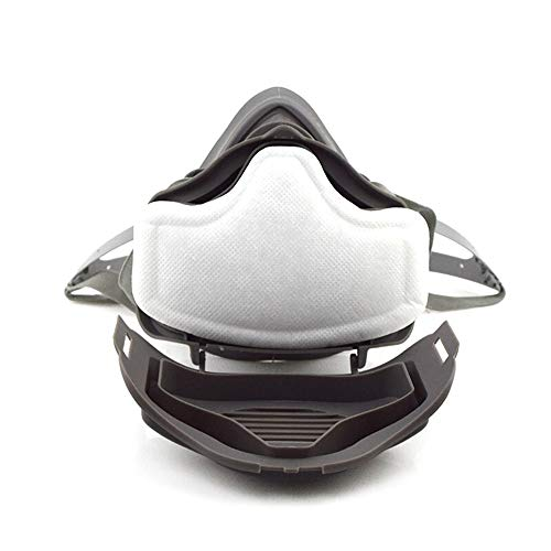 JXYUEXING Anti Dust Respirator Filter Gas Mask Set Chemical Anti-dust Masks Industrial Paint Spraying tective Mask Workplace Safety