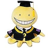 Enhopty Classroom Plush Toy Funny Octopus Koro Sensei Stuffed Plushie Doll for Anime Fans Kids 17.7in