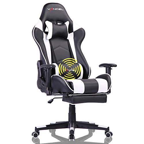 Gaming Chair Office Desk Chair High Back Computer Chair Ergonomic Adjustable Racing Chair
