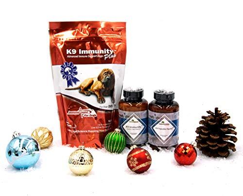 Aloha Medicinals - K9 Immunity Plus Large Holiday Bundle