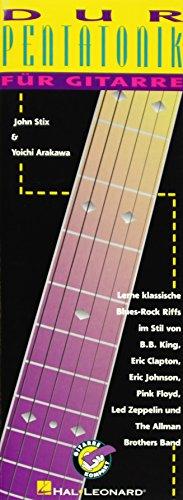 Dur Pentatonik für Gitarre