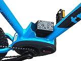 Cubierta protectora para bicicleta eléctrica BeDiCo Bosch para marco de Bosch de grabación de batería de la serie Active, Performance, Line y CX a partir de 2014.
