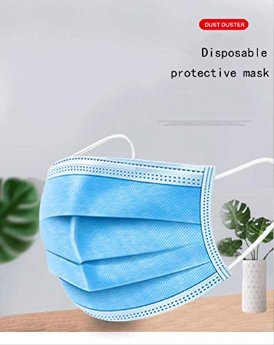 Entrega rápida Máscara protectora desechable 3 capas Anti-formaldehído Antibacterial Facial Cover Mask Anti Dust Mask 200pcs