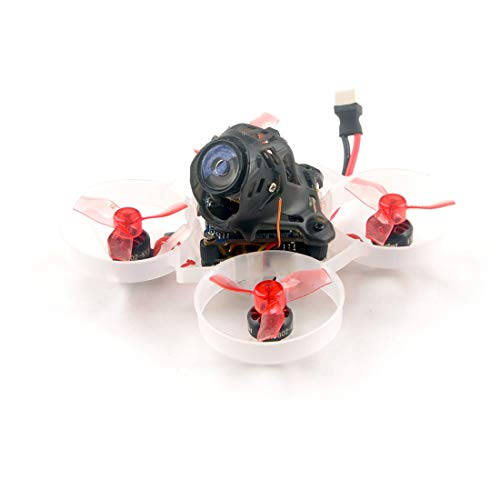 HAPPYMODEL Updated Mobula6 HD 1S 65mm Brushless Quadcopter Whoop Mobula 6 HD FPV Racing Drone BNF with AIO 4IN1 Crazybee F4 Lite Runcam Split3-lite 1080P HD Camera (BNF Frsky RX)