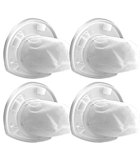 4 Pack Replacement VF110 Filters, Part # 90558113, Compatible With Black & Decker CHV1410L, CHV1510, CHV9610, CHV1210, CHV1410, CHV1410B, BDH2000L Hand Vacuums