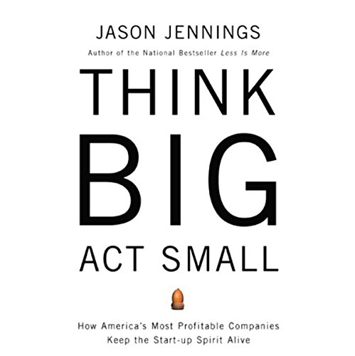 Think Big, Act Small audiobook cover art